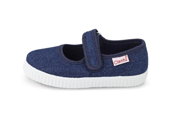 Cienta Kids Mary Jane Denim