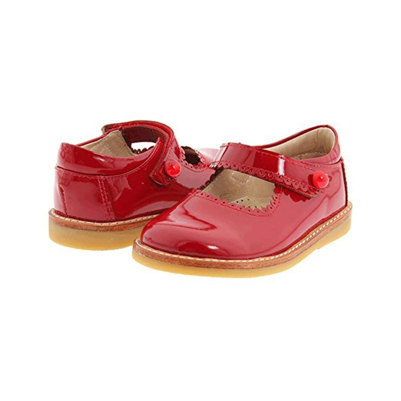 Mary Jane-Red Patent
