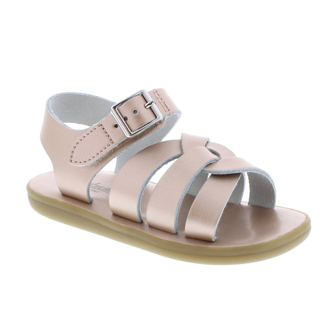 Wave Waterproof Sandal FOOTMATES Rose Gold