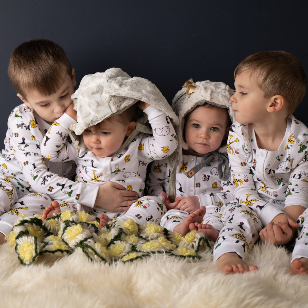 MIFFY AT THE ZOO PAJAMAS (ORGANIC)