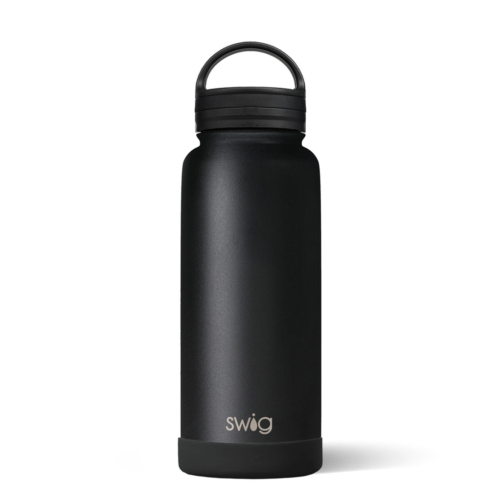 MATTE BLACK BOTTLE (30OZ)