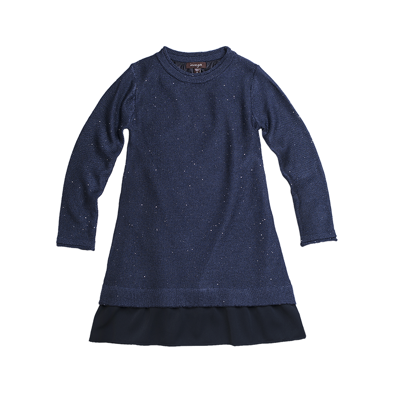 Sandy Dress-Navy