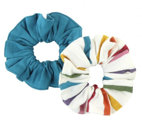 2-Pack Harvest Rainbow Scrunchies