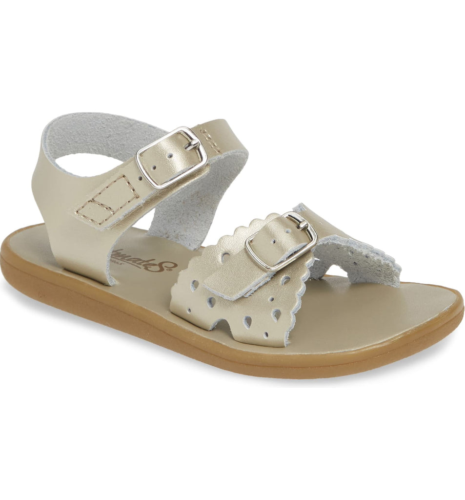 Arie Waterproof Sandal FOOTMATES Soft Gold