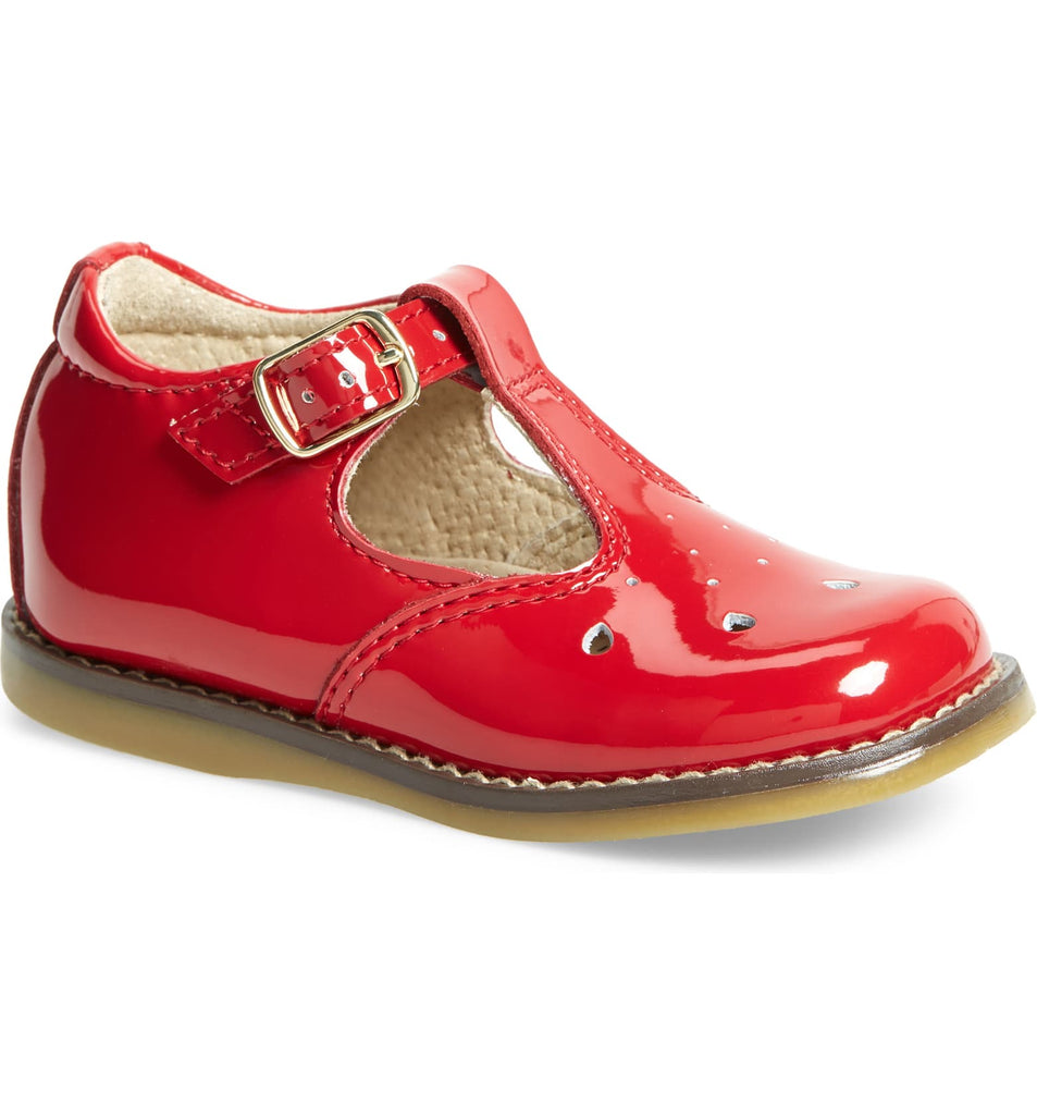 Harper Mary Jane FOOTMATES patent red