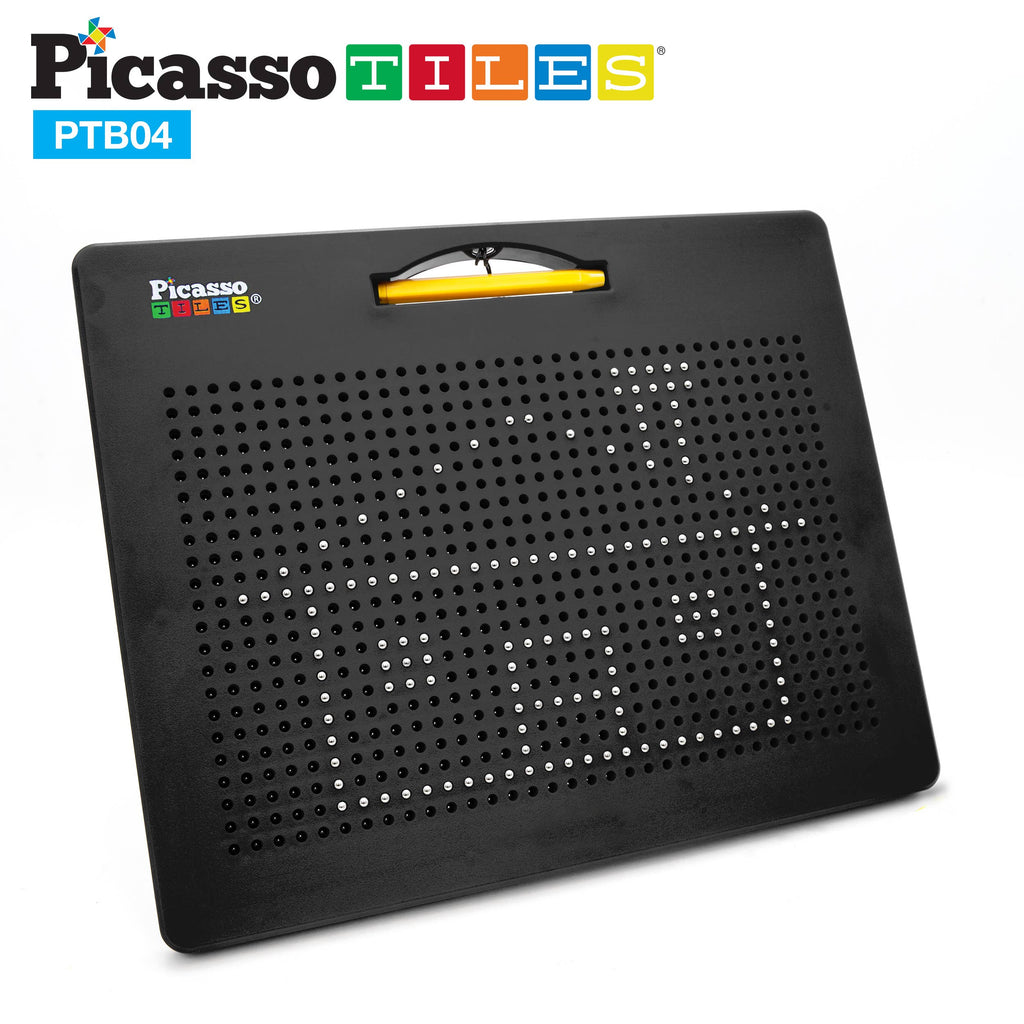 PicassoTiles - PicassoTiles Large Double-Sided Magnetic Drawing Board