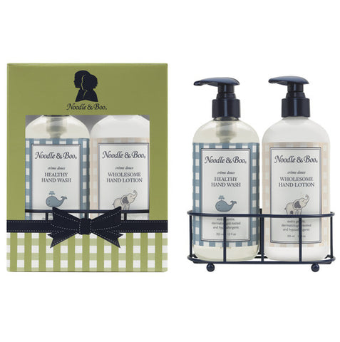 Healthy Hand Wash & Wholesome Hand Lotion Caddy Gift Set