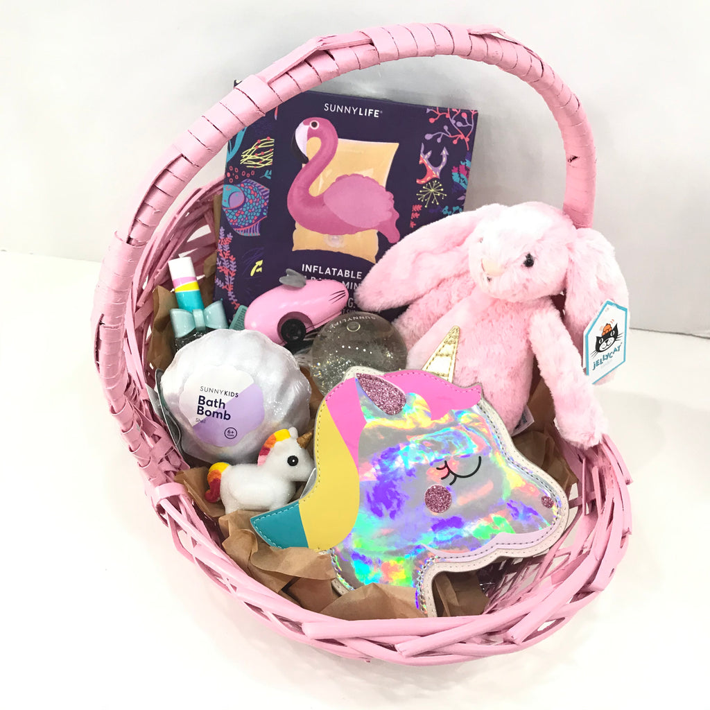 Toddler girl Easter basket