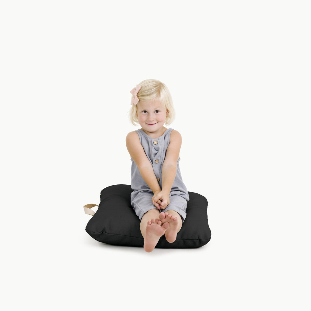 Mini Floor Cushion-Raven