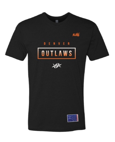 Denver Outlaws FADE  Tee