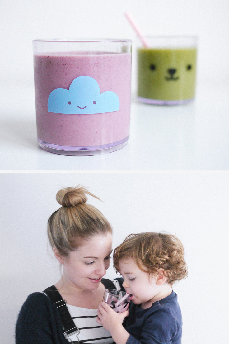 Smoothie recipe ideas for toddlers - Buddy and Bear Blog