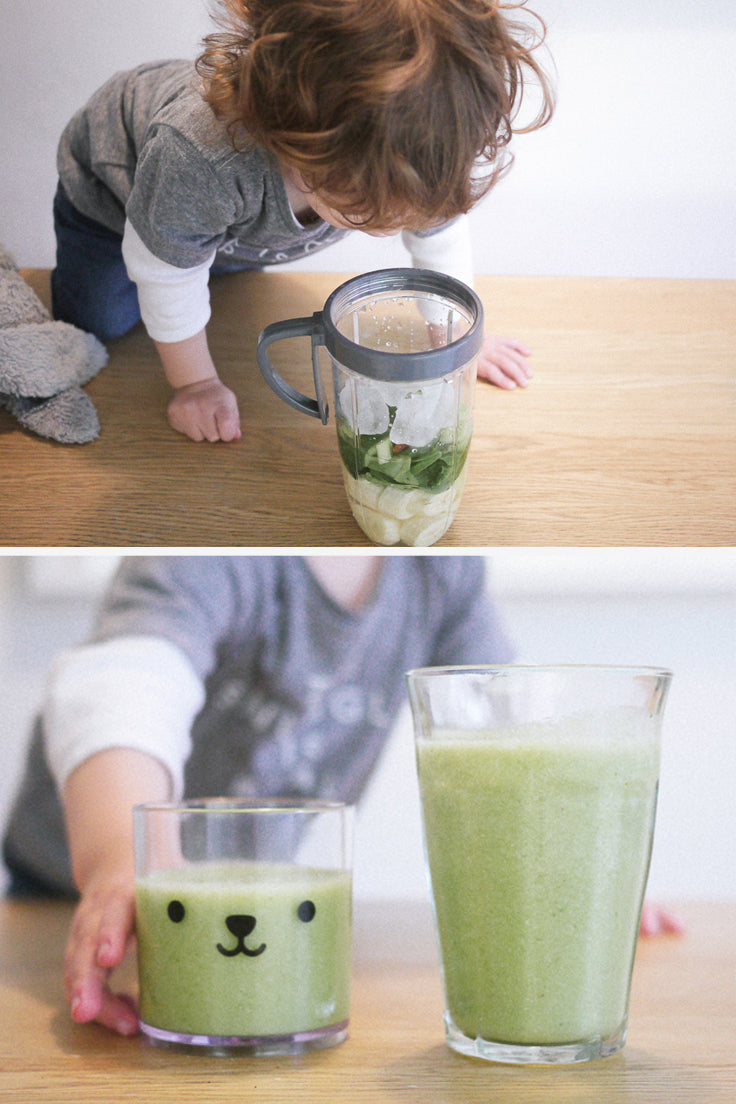 Smoothie recipe ideas for kids - Buddy and Bear blog