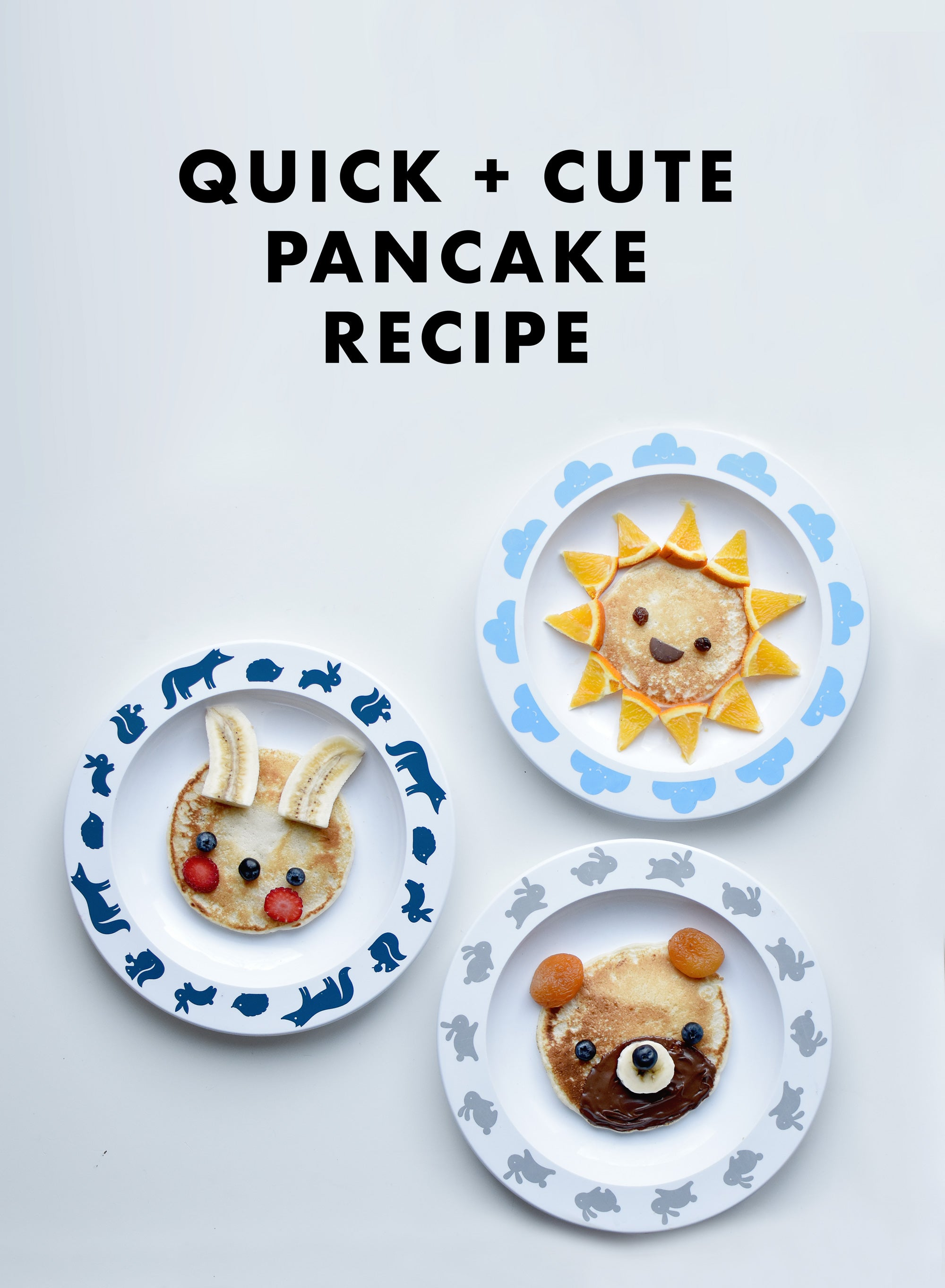 buddy and bear easy kids pancake recipe