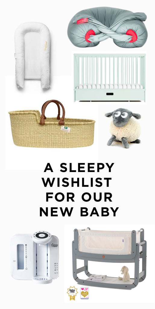 new born baby sleep recommendations wishlist