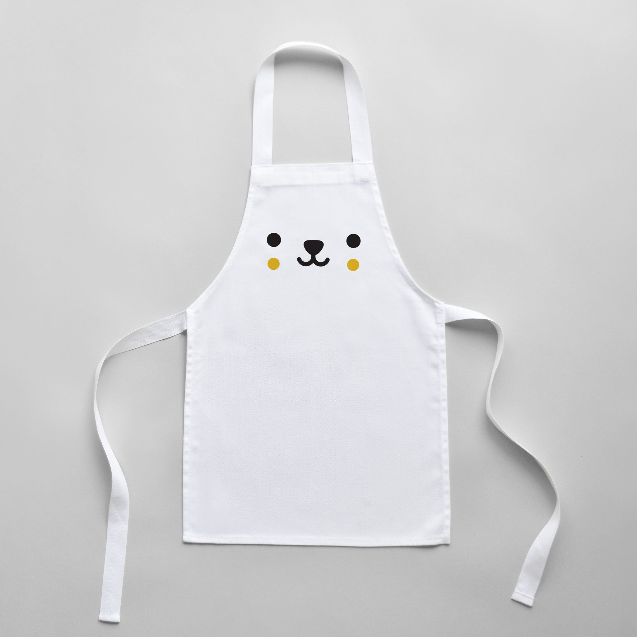 Buddy And Bear Bear Toddler Apron