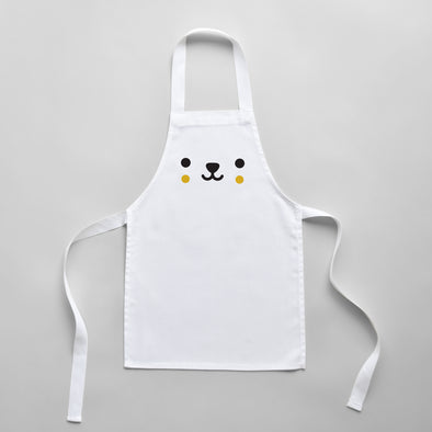 Toddler Bear Apron - Cute Kitchen Apron For Kids