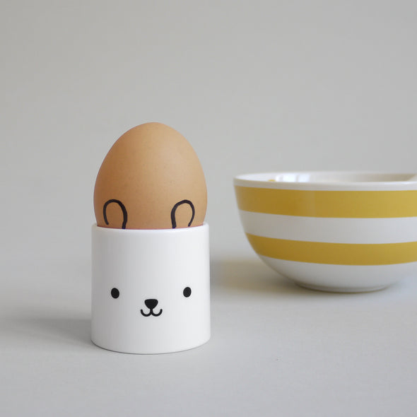 Cute Buddy and Bear egg cup