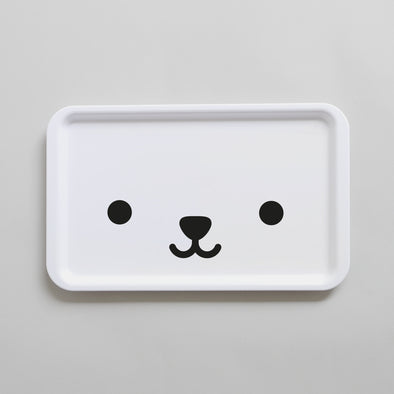 Cute Buddy and Bear kids tray