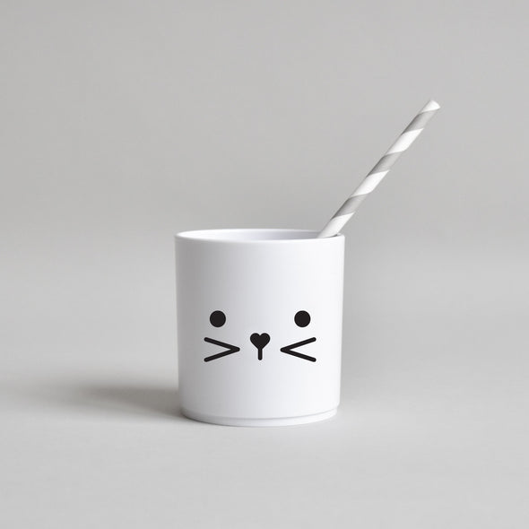 Bunny Face Tumbler – White Edition