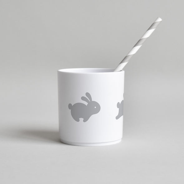 Hoppy Bunny Tumbler White Edition