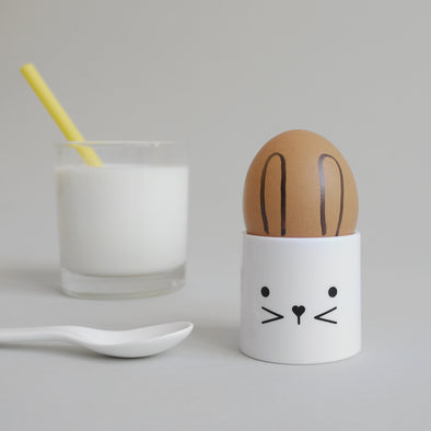 Cute Buddy and Bear Bunny Egg Cup
