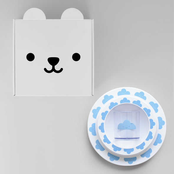 Buddy and Bear Kids Tableware Gift Set