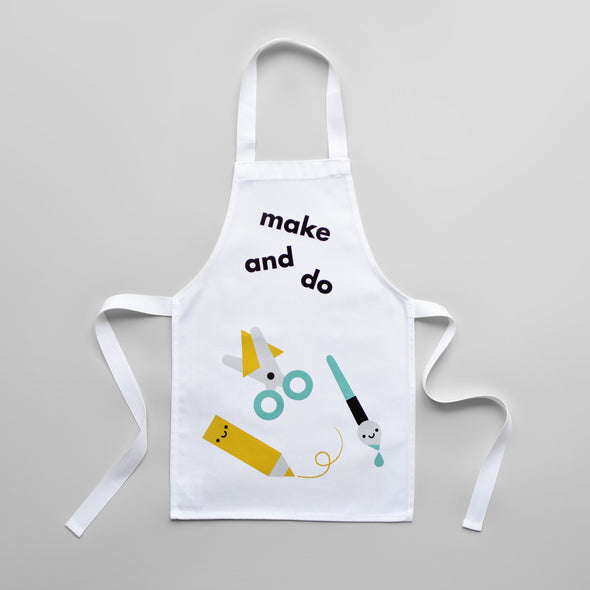 "Toddler Apron ""Make and Do"""