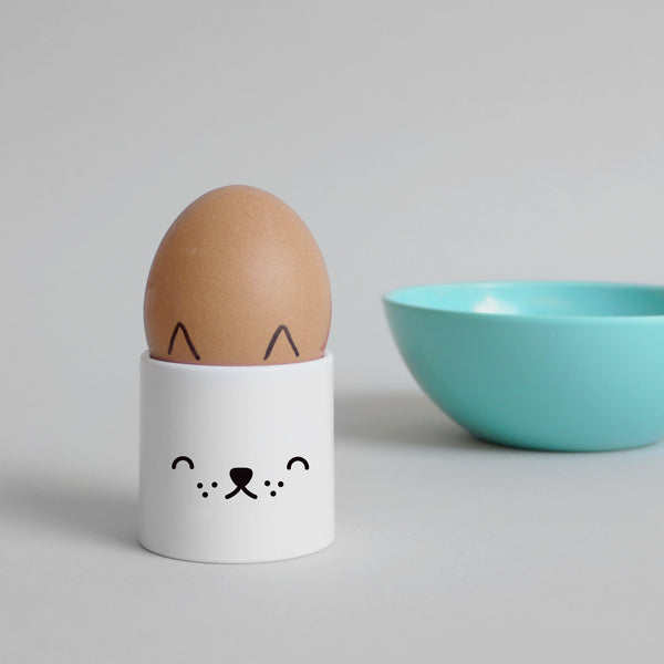 Cute Buddy and Bear Little Pup Plastic Egg Cup