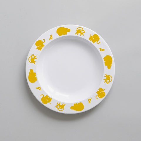 Wild Animal – Plate (Yellow)