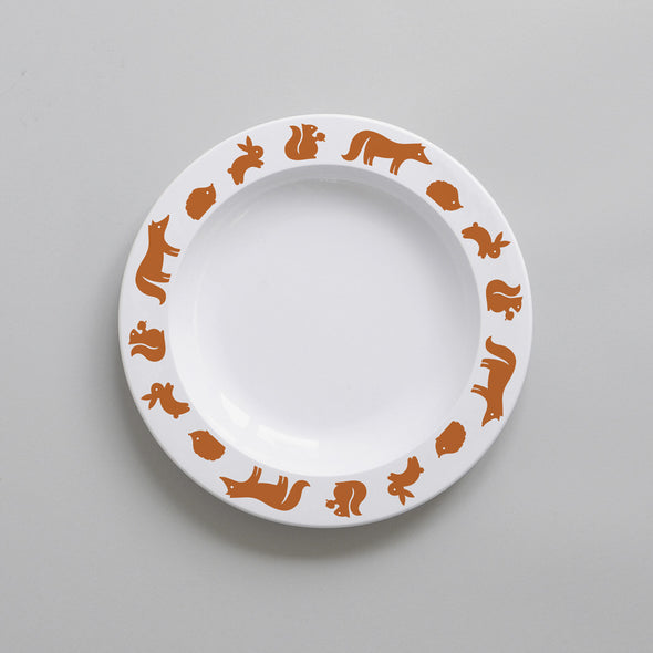 Woodland Animal – Plate (Cinnamon)