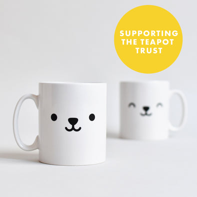 Bear Face Charity Mug