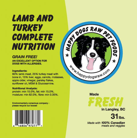 Lamb and Turkey Complete Nutrition