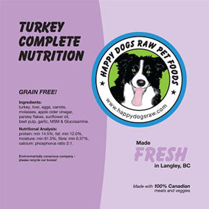 Turkey Complete Nutrition Blend
