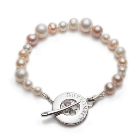 Limited Edition Pearl Button Bracelet