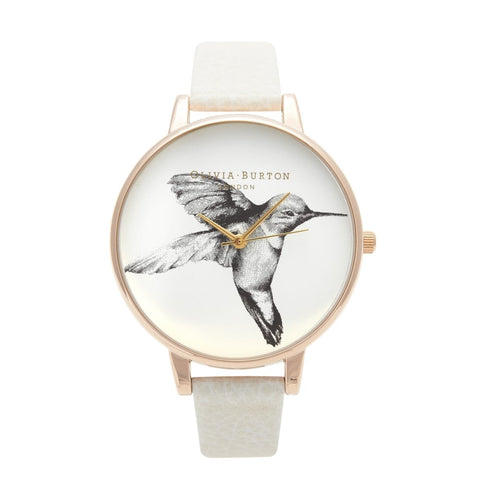 Olivia Burton Signature Hummingbird Motif Watch