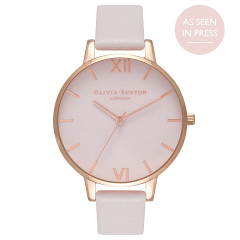 Olivia Burton Big Dial Blush & Rose Gold Watch