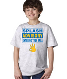 """SPLASH ADVISORY"" Youth Ultra Cotton™ T-Shirt"