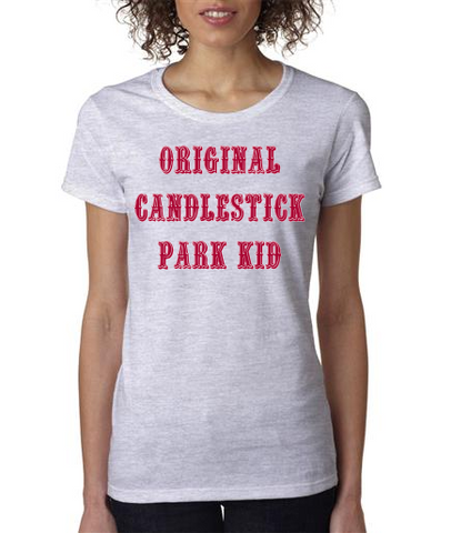 """ORIGINAL CANDLESTICK PARK KID"" Ladies' Heavy Cotton Short Sleeve T-Shirt"