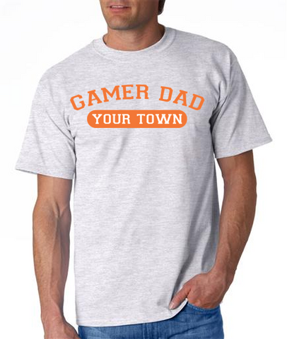"""GAMER DAD from {INSERT YOUR TOWN HERE"" Mens' Ultra Cotton™ T-Shirt"