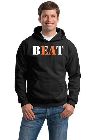 """BEAT LA"" Gildan Heavy Blend Hooded Sweatshirt"