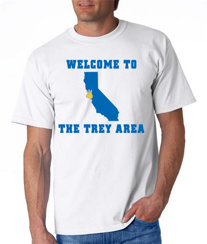 """WELCOME TO THE TREY AREA"" Mens' Ultra Cotton™ T-Shirt"