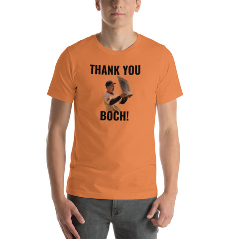 """Thank You Boch!"" Short-Sleeve Unisex T-Shirt"