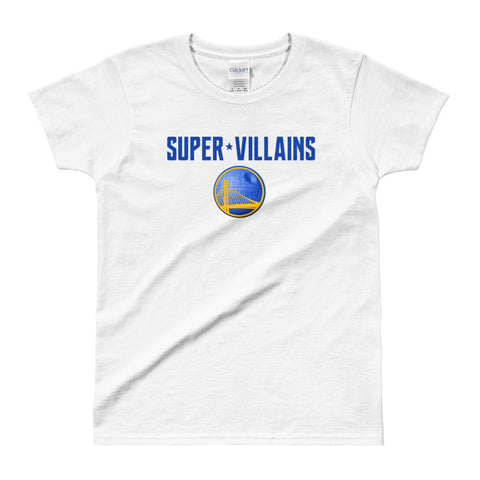 Super Villains Ladies' T-Shirt
