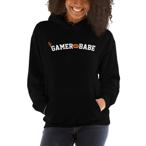 """SF Gamer Babe - Kiss Version"" Hooded Sweatshirt"