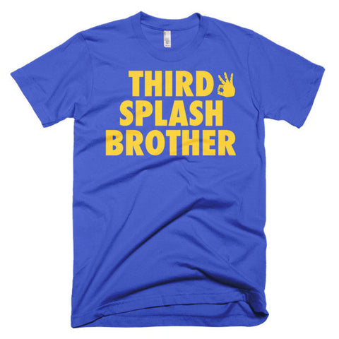"""Third Splash Brother"" Short Sleeve Men's T-Shirt"