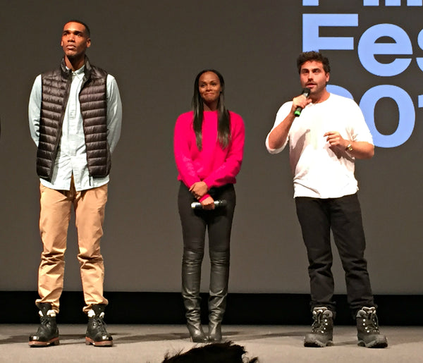 Parker Sawyers, Tika Sumpter, and writer/director Richard Tanne of Southside