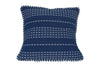 Besos Throw Pillow, Navy