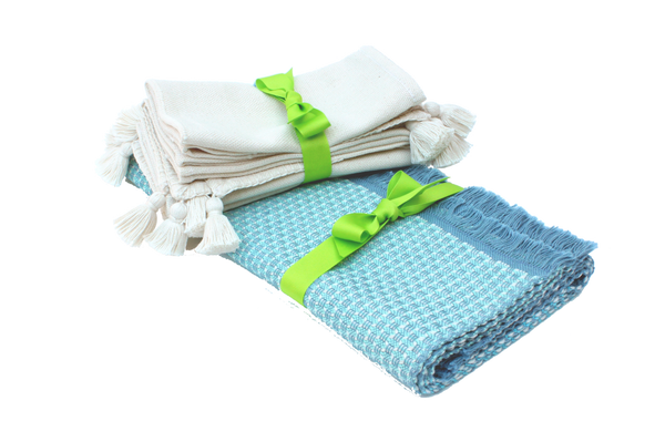 Gift Set of Placemats + Joya Napkins