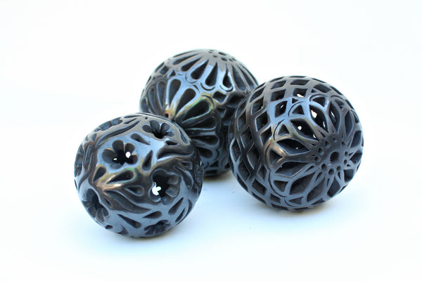 Decorative Spheres, Punctured