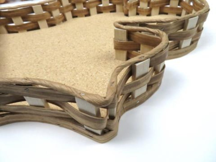 Well-constructed, woven basket